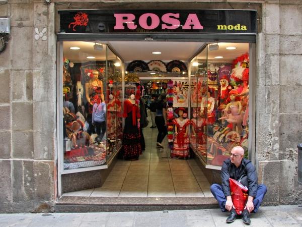 Moda Rosa (Art. flamenco y fiestas): Foto, 3