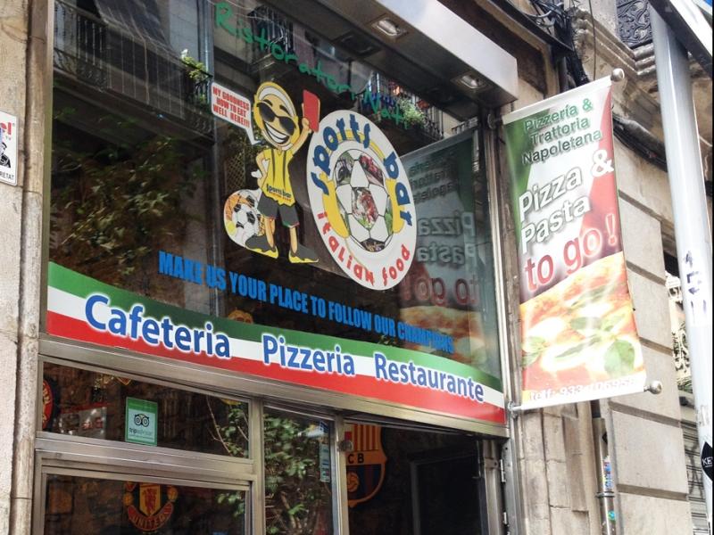 Sports Bar Italian Food